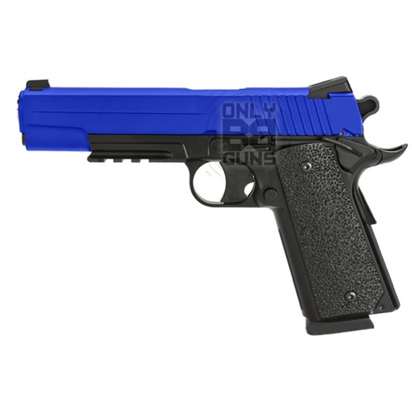 Gas KWC 1911 CO2 Pistol (Non Blowback- Full Metal- Black- KWC KC 42ZDHN)