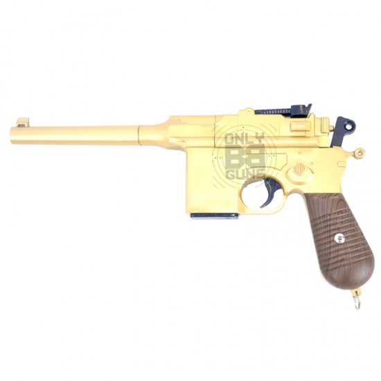 Full Metal German Army G12 Spring Pistol (Limited Edition Gold)