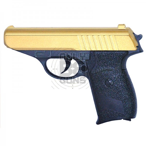 Galaxy G3 Full Metal Spring Pistol (G3-Gold)