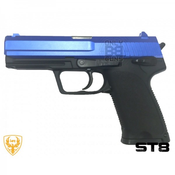 HFC  ST8 Gas Pistol (Non-Blowback - Blue - GGH-0303)