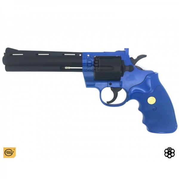 Magnum Style Revolver (shell loading) - Polymer - G36 Blue