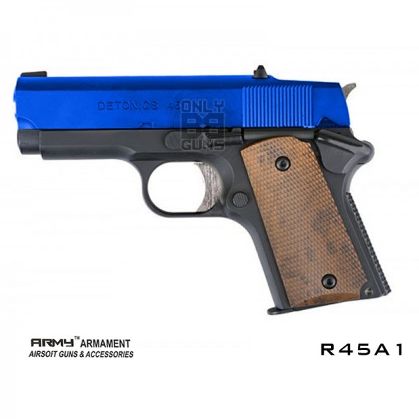 Gas Powered R45A1 Stubby BB Airsoft Handgun