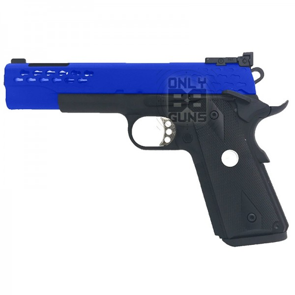 GAS POWERED DESERT STORM R30 V2 BLOWBACK PISTOL (BLACK - ARMY-R30-2 GAS POWERED)