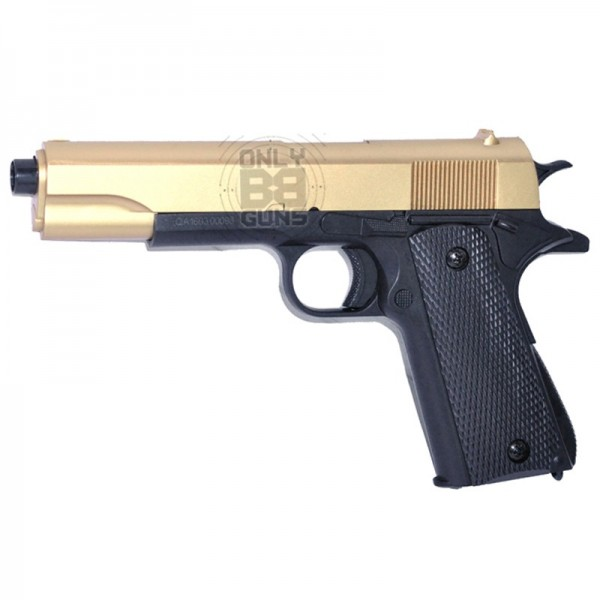 Double Eagle 1911 Spring Pistol (M292 Gold)