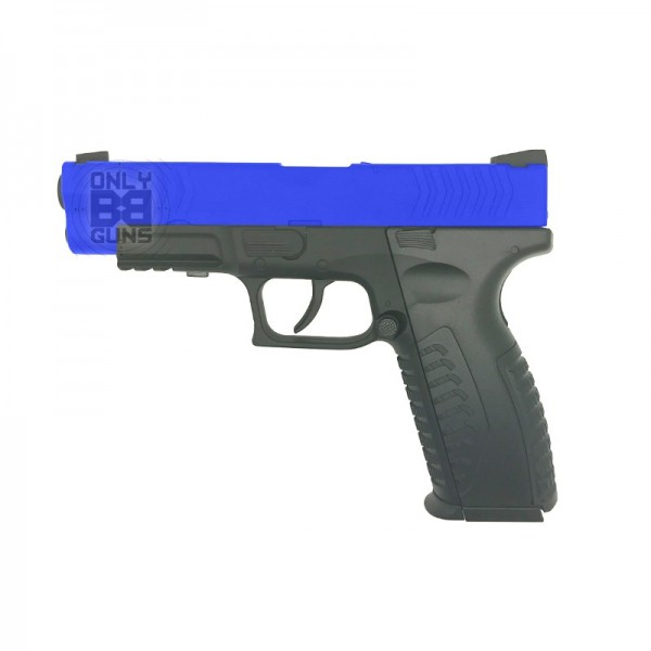 GAS POWERED HFC XDM CO2 PISTOL (FULL METAL - CO2 - BLACK)