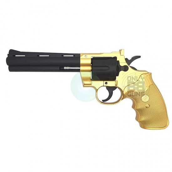 Galaxy Spring Revolver (Polymer-G36-Gold)