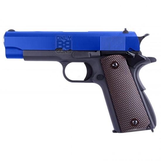 "Gas WE 1911 ""COMMANDER"" Blowback Pistol"