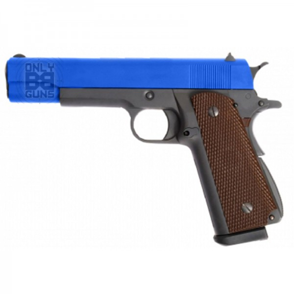 WE 1911 Hi-Capa MAG Gas Blowback Pistol (Black)
