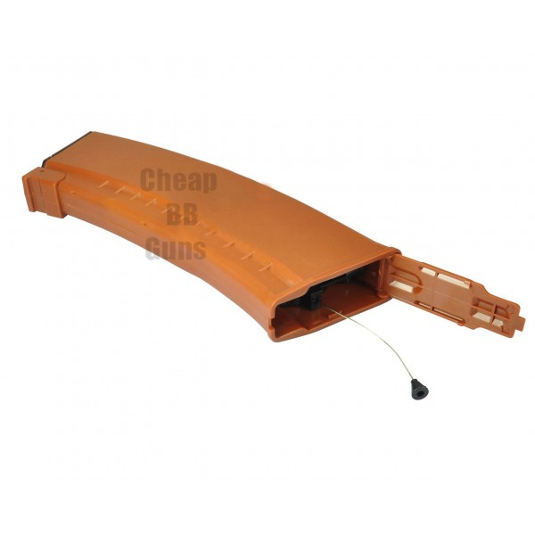 AK74 Hi-Cap 500 Rounds Flash Magazine (Orange)