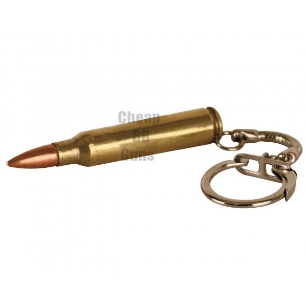 556 Keyring - Brass