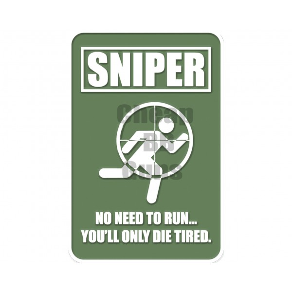 Patches - Sniper Green