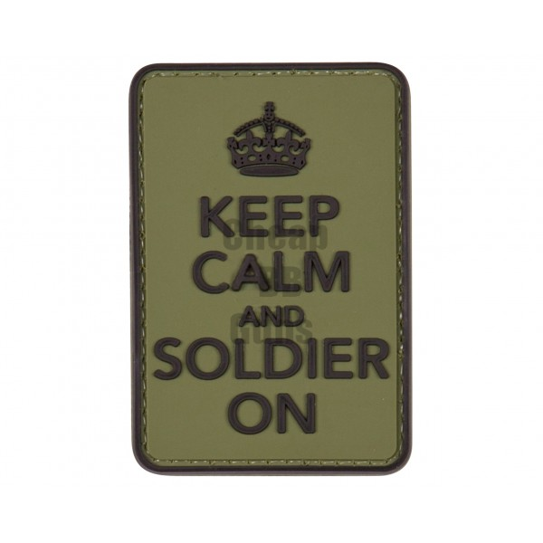 Patches - Keep calm and soldier on