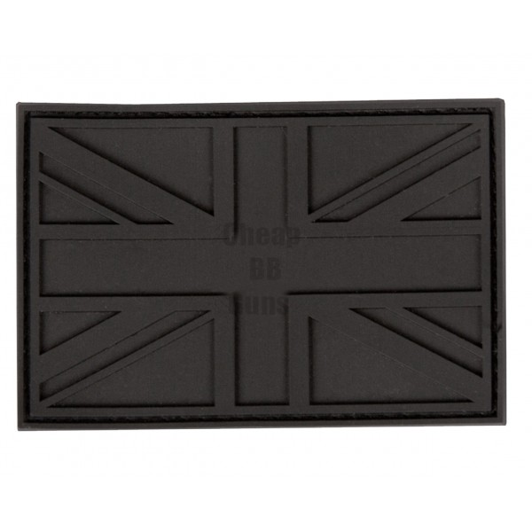 UK PVC stealth patches (Black)