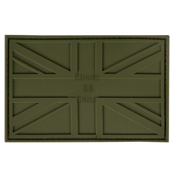 UK PVC stealth patches (Green)