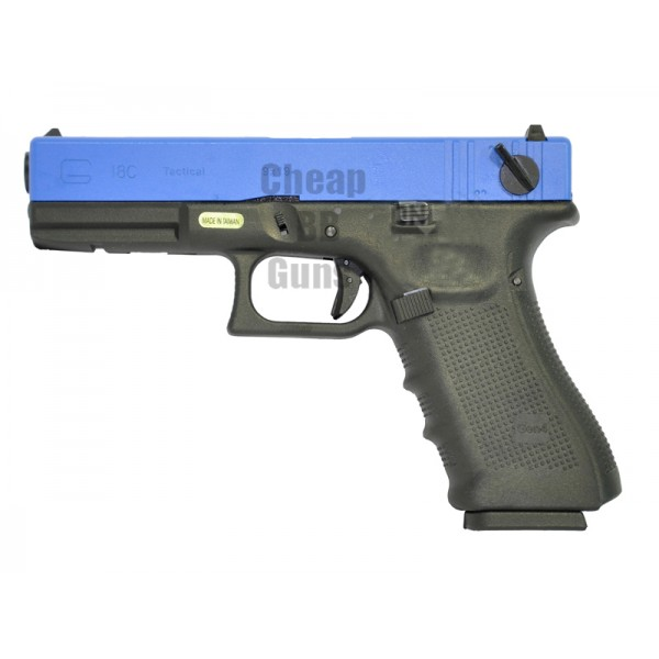 WE G18C Gen 4 Gas Blowback Pistol