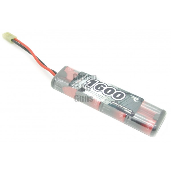 9.6v 1600mAh 2/3A NiMH Mini Battery Pack