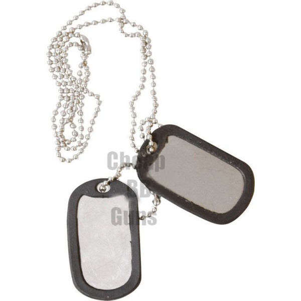 Dog Tags - Black