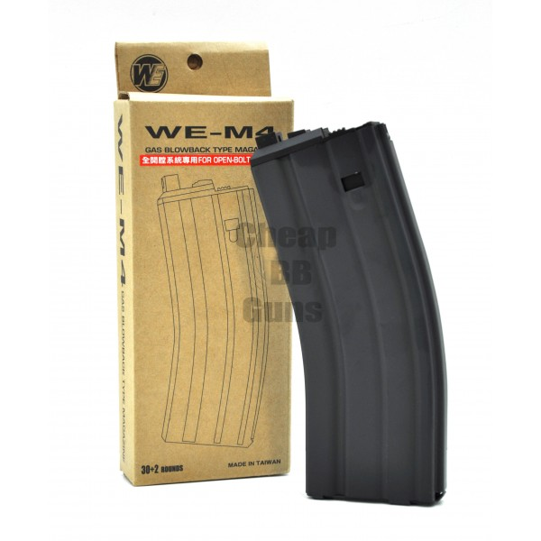 WE Open-Bolt Gas BlowBack Magazine (30 Round)