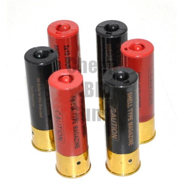 6 x 10 round M56DL Shotgun Magazine