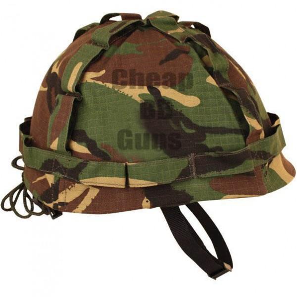 M1 Plastic Helmet & Cover - DPM