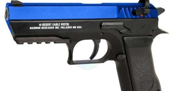 Gas Powered Co2 Magnum Research Inc Baby Desert Eagle Non Blowback Pistol Cybergun 90300 Cheap Bb Guns