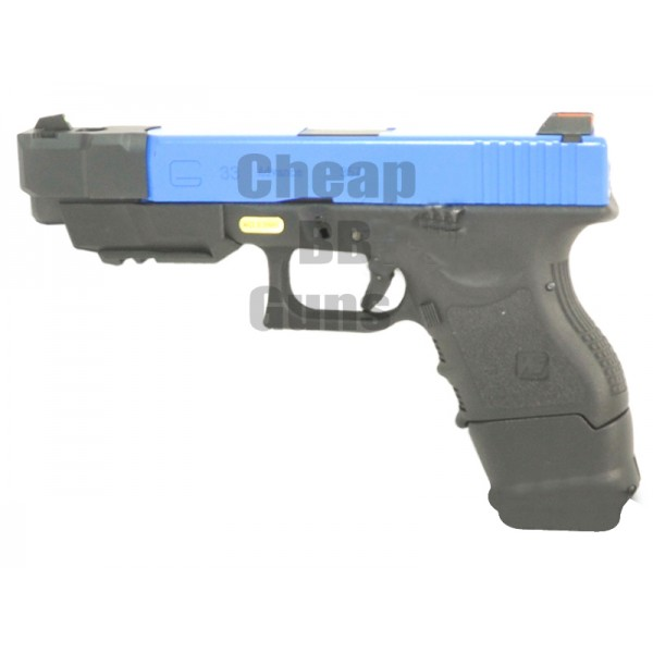 WE G26C Advance Gen. 3 Gas Blowback Pistol (Semi-Automatic)