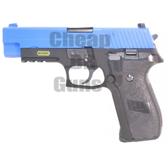 WE 226 Metal Gas Blowback Pistol