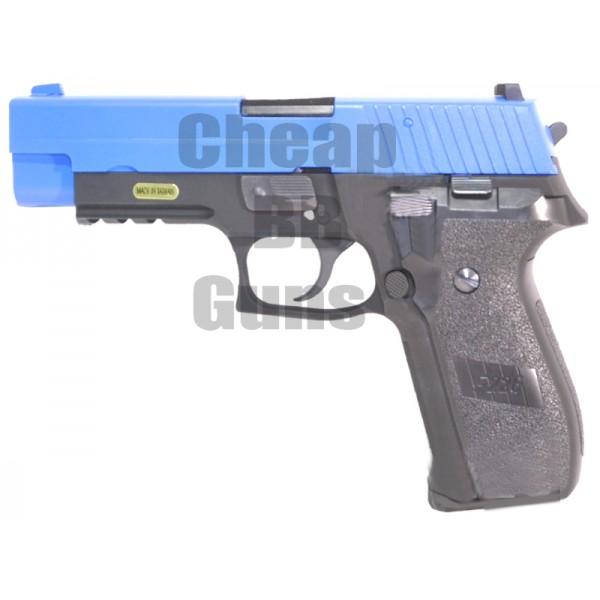WE 226 Metal Gas Blowback Pistol