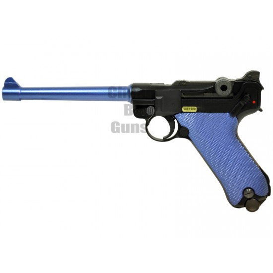 WE LUTHER Full Metal Gas Blowback Pistol